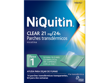NiQuitin® Clear Patch/ 21mg